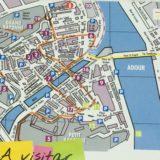 バイヨンヌ市街図