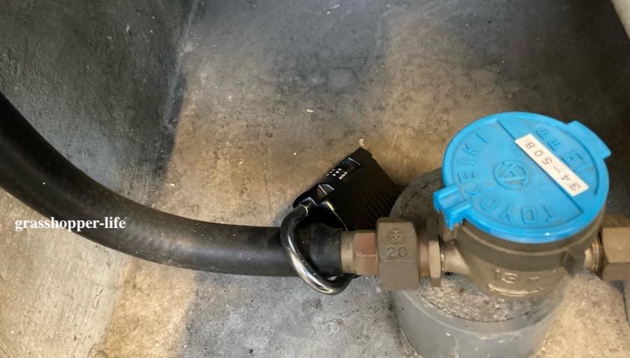 ガスメーターボックスの鍵収納ボックス